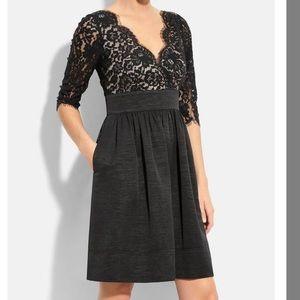 Eliza J Plus Size Lace sleeve Dress- Size 16